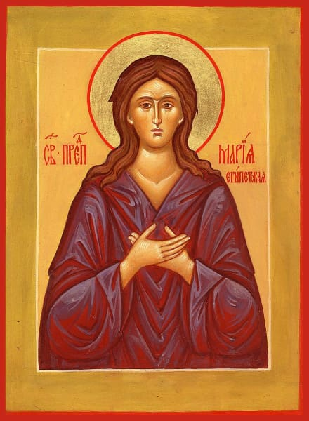 St. Mary Of Egypt - Icons