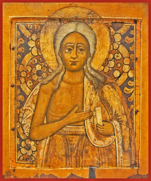 St. Mary Of Eqypt - Icons