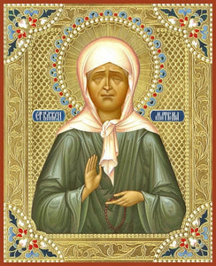 St. Matrona Of Moscow - Icons