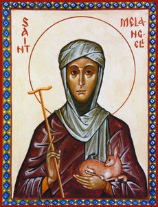 St. Melangell Of Wales - Icons