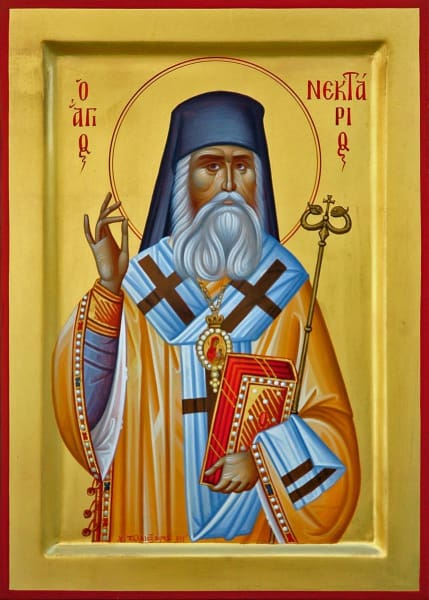 St. Nektarios Of Aeginana - Icons