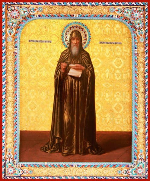 St. Nestor The Chronicler - Icons