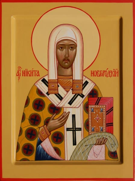 St. Nikita Of Novogorod - Icons