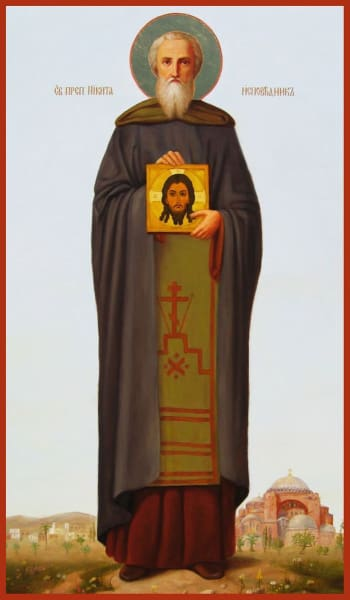 St. Nikita The Confessor Of Chalcedon - Icons