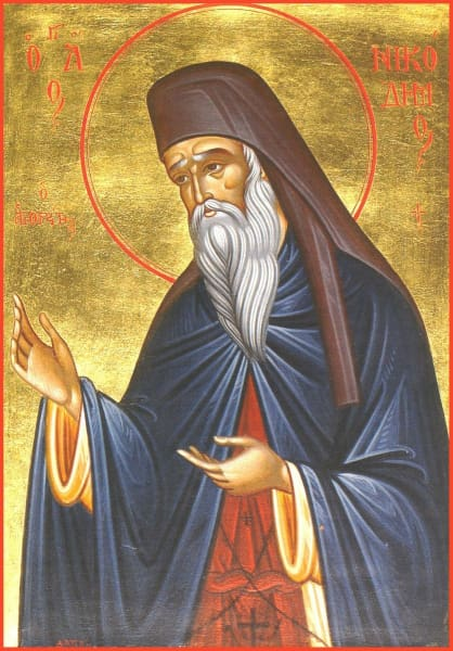 St. Nikodemos The Hagiorite - Icons
