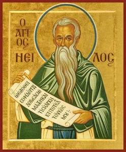 St. Nilus The Myrrhgusher - Icons