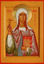 Load image into Gallery viewer, St. Nina Enlightener Of Georgia - Icons
