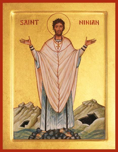 St. Ninian Of Scotland - Icons