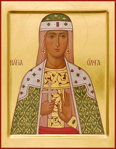 St. Olga Of Minsk - Icons