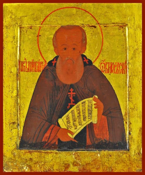 St. Paul Of Obnora - Icons