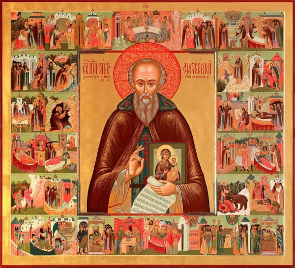 St. Sabbas Of Storozhev - Icons