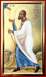 St. Samson Of Dol - Icons