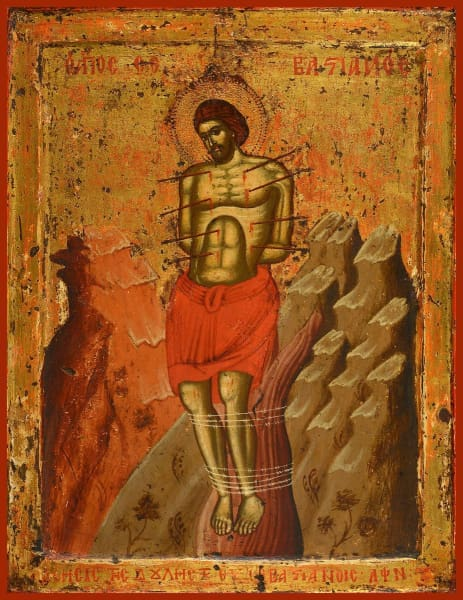 St. Sebastian The Martyr - Icons