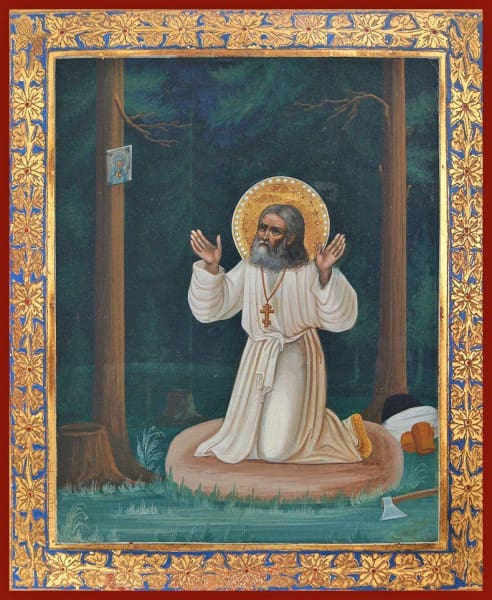 St. Seraphim Of Sarov - Icons