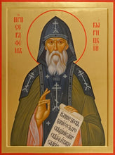 Load image into Gallery viewer, St. Seraphim Vyiritskiy - Icons