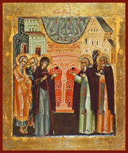 Load image into Gallery viewer, St. Sergius Of Radonezh (Mother Of God Appears To St. Sergius) - Icons