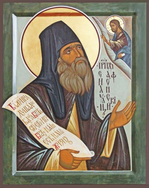 St. Silouan The Athonite - Icons