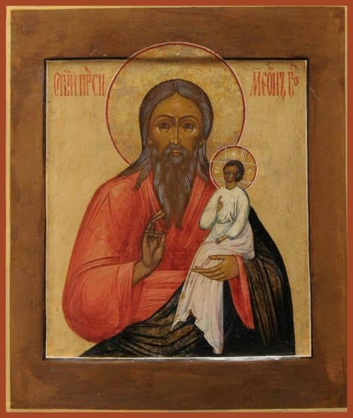 St. Simeon The God Receiver - Icons