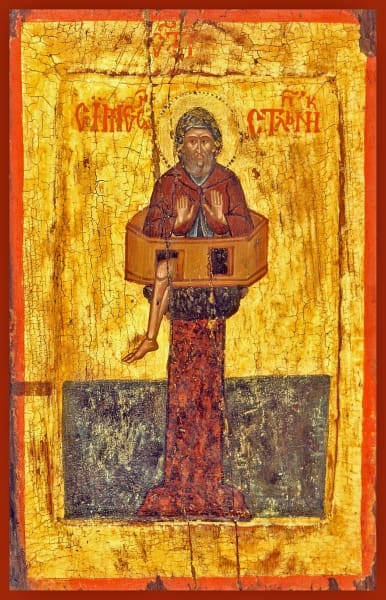 St. Simeon The Stylite - Icons
