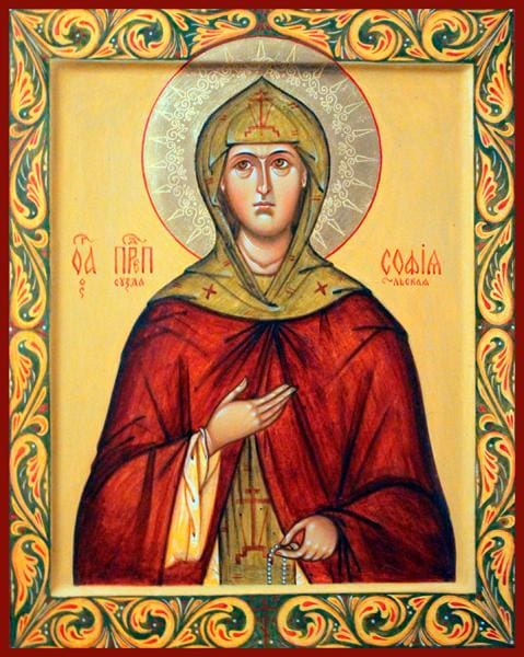St. Sofia Of Suzdal - Icons