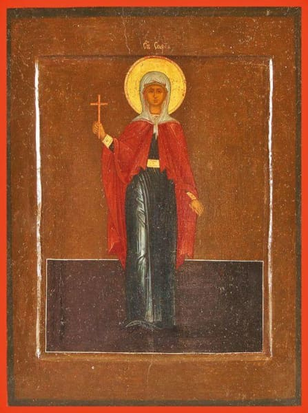 St. Sofia The Martyr - Icons