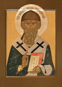 St. Spyridon Of Tremithus - Icons