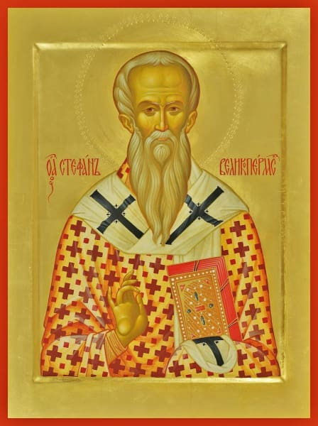 St. Steven Of Perm - Icons
