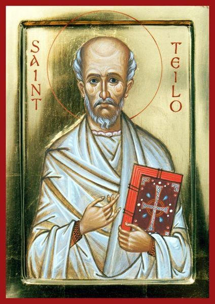 St. Teilo Of Wales - Icons