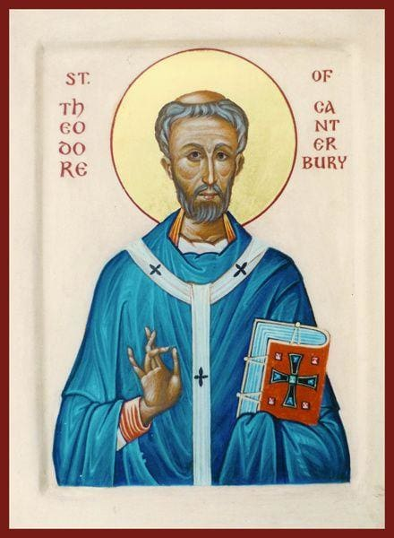 St. Theodore Of Tarsus And Canterbury - Icons