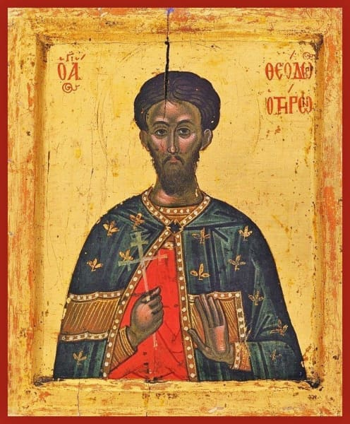 St. Theodore Of Tyro - Icons