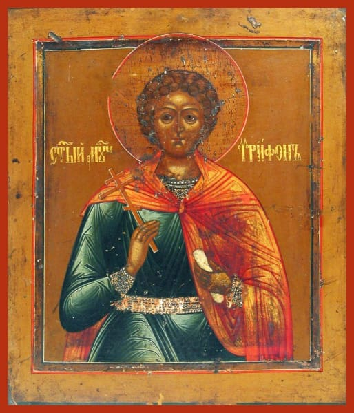 St. Tryphon - Icons