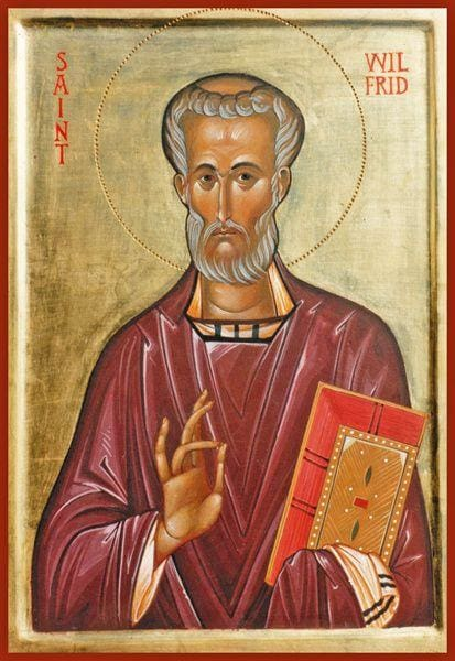 St. Wilfrid Of York - Icons