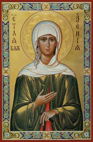 St. Xenia Of St. Petersburg - Icons