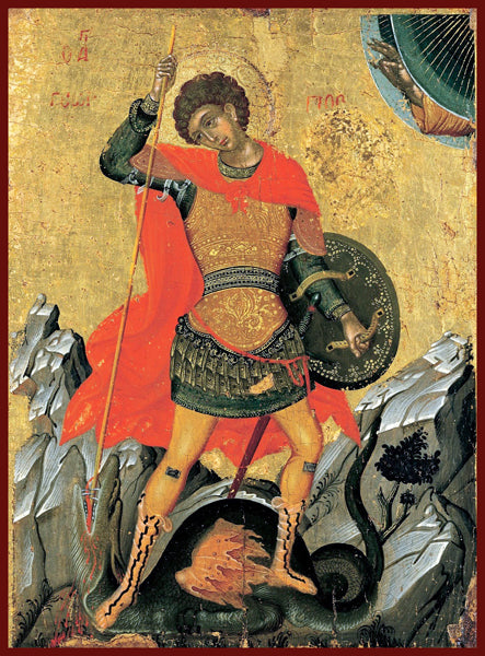 St. George the Great Martyr Orthodox Icon