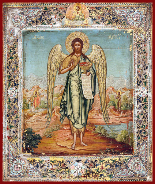 St. John the Forerunner Orthodox Icon