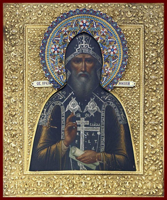 St. Micah of Radonezh Orthodox icon