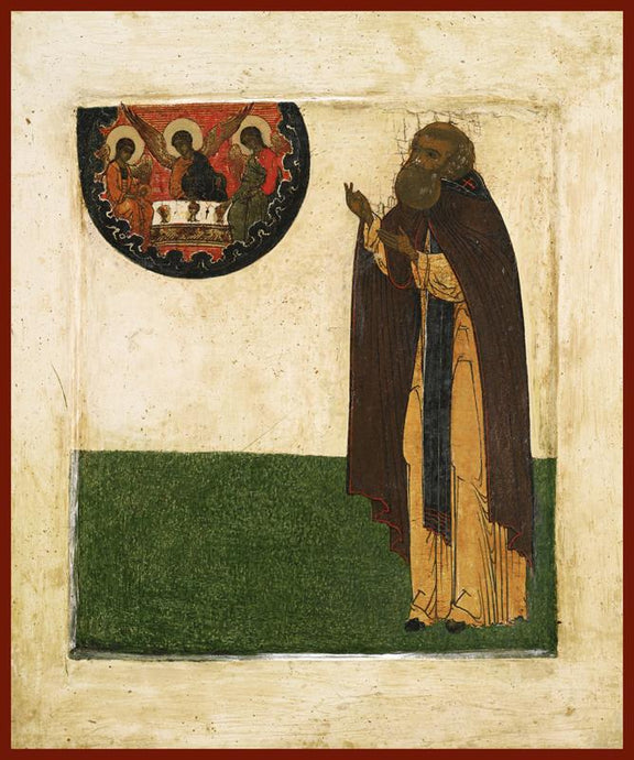 St. Sergius orthodox icon