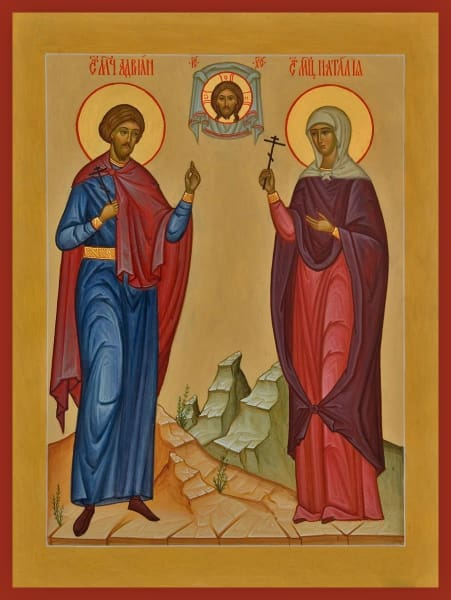 Sts. Adrian And Natalia - Icons