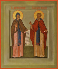 Load image into Gallery viewer, Sts. Anthony And Theodosius Of The Kiev Caves - Icons