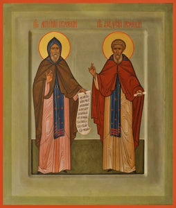 Sts. Anthony And Theodosius Of The Kiev Caves - Icons