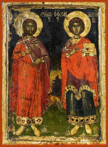 Sts. Artemy And Panteleimon - Icons