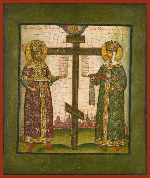 Sts. Constantine And Helen - Icons