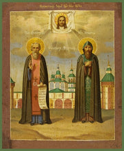 Load image into Gallery viewer, Sts. Demetrius And Ignatius Of Priluki - Icons