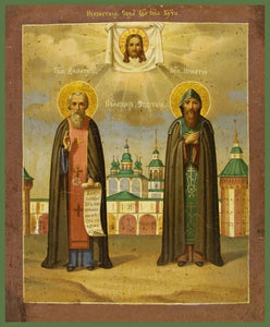 Sts. Demetrius And Ignatius Of Priluki - Icons