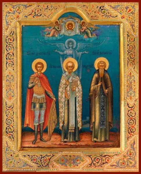 Sts. Demetrius Nichols And Makary - Icons