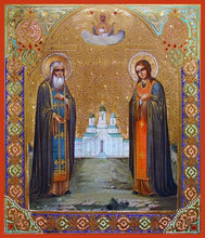 Load image into Gallery viewer, Sts. Galaktion Of Vologda And Joasaph - Icons