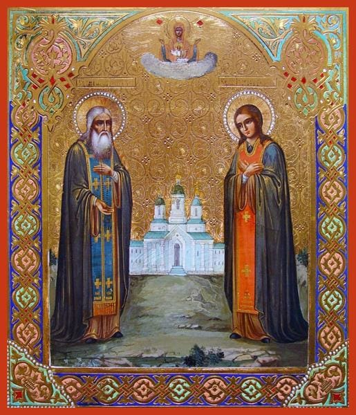 Sts. Galaktion Of Vologda And Joasaph - Icons