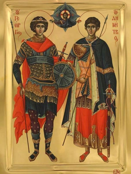 Sts. George And Demetrius - Icons