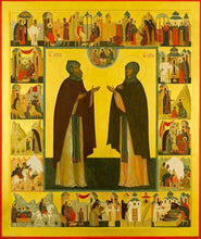 Load image into Gallery viewer, Sts. Kyrill And Maria Parents Of St. Sergius Of Radonezh - Icons