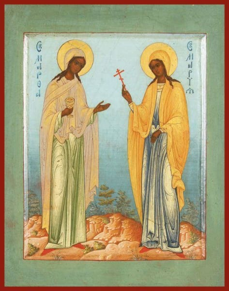 Sts. Martha And Mary - Icons